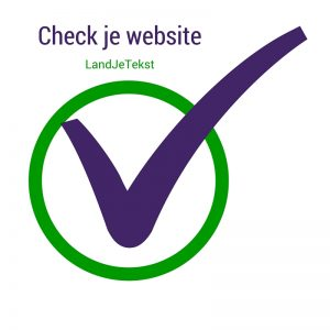 Check je website